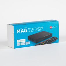 MAG 520W3 with WiFi build in IPTV/OTT 4k/HEVC