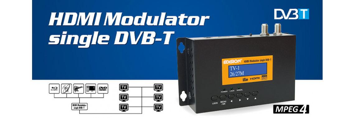 HDMI modulator DVB-T MPEG-4