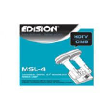 LNB monoblock 4.3° 1. izhod MSL-4 - HD pripravljen
